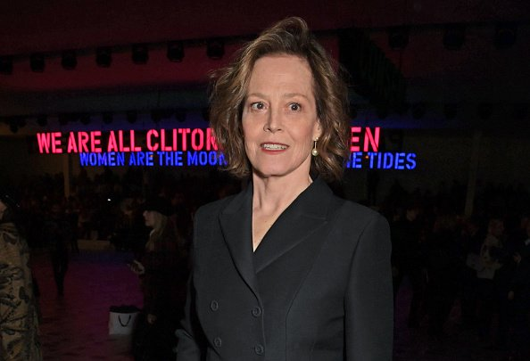 Sigourney Weaver on February 25, 2020 in Paris, France. | Photo: Getty Images