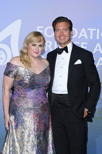 Rebel Wilson and Jacob Busch at the Monte-Carlo Gala For Planetary Health on September 24, 2020 in Monte-Carlo, Monaco. | Photo: Getty Images