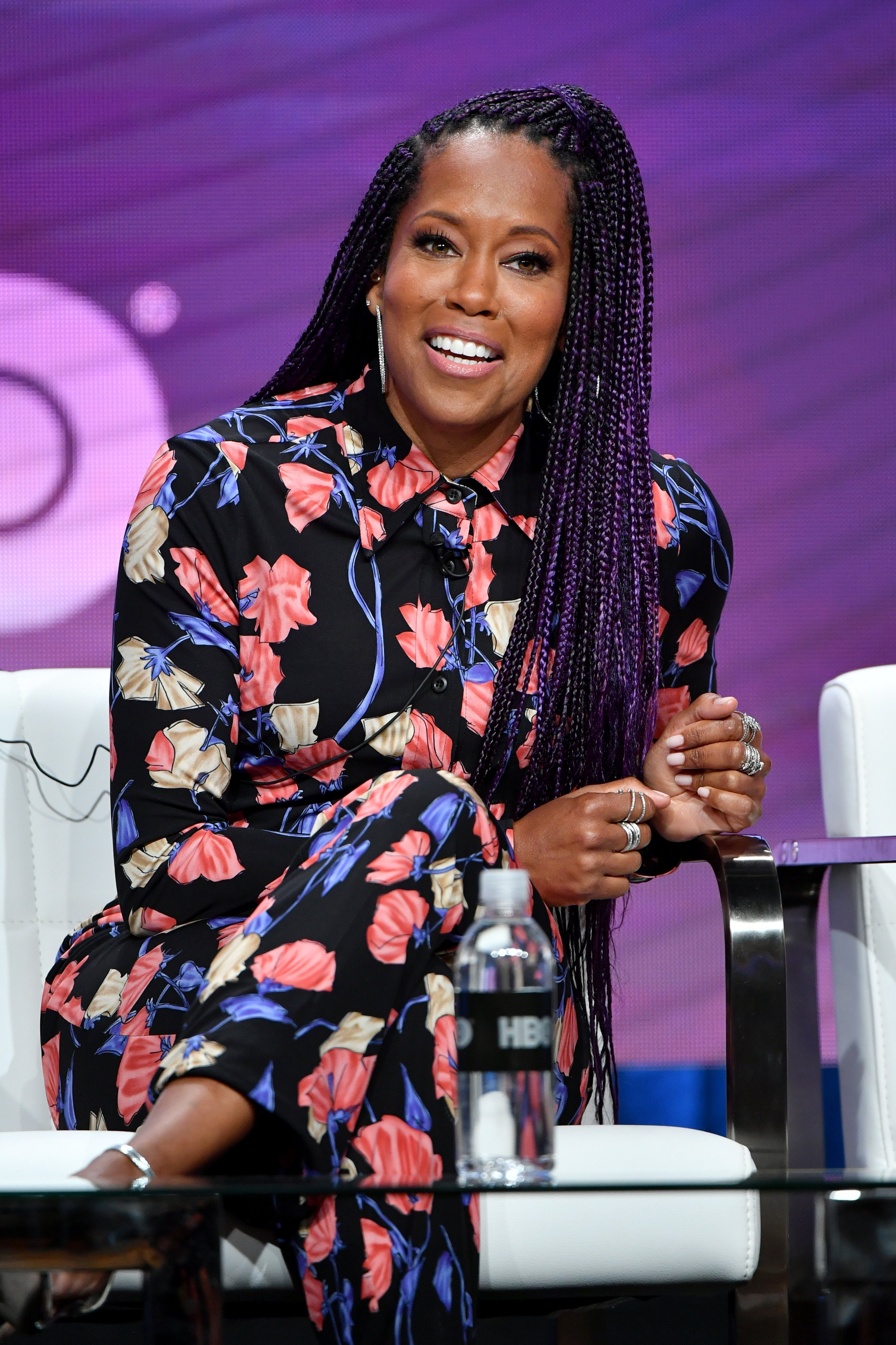 Regina King of 'Watchmen' speaks during the HBO segment of the Summer 2019 Television Critics Association on July 24, 2019.   Photo: GettyImages