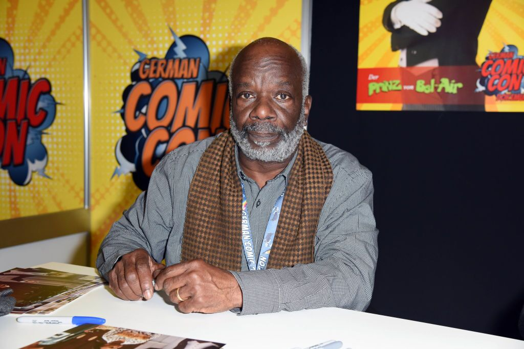 US actor Joseph Marcell during the German Comic Con at Westfalenhalle on December 1, 2018 | Photo: Getty Images
