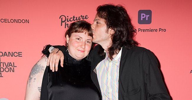 Lena Dunham and Luis Felber attend the Sundance London Film Festival screening of Zola, August 2021 | Source: Getty Images