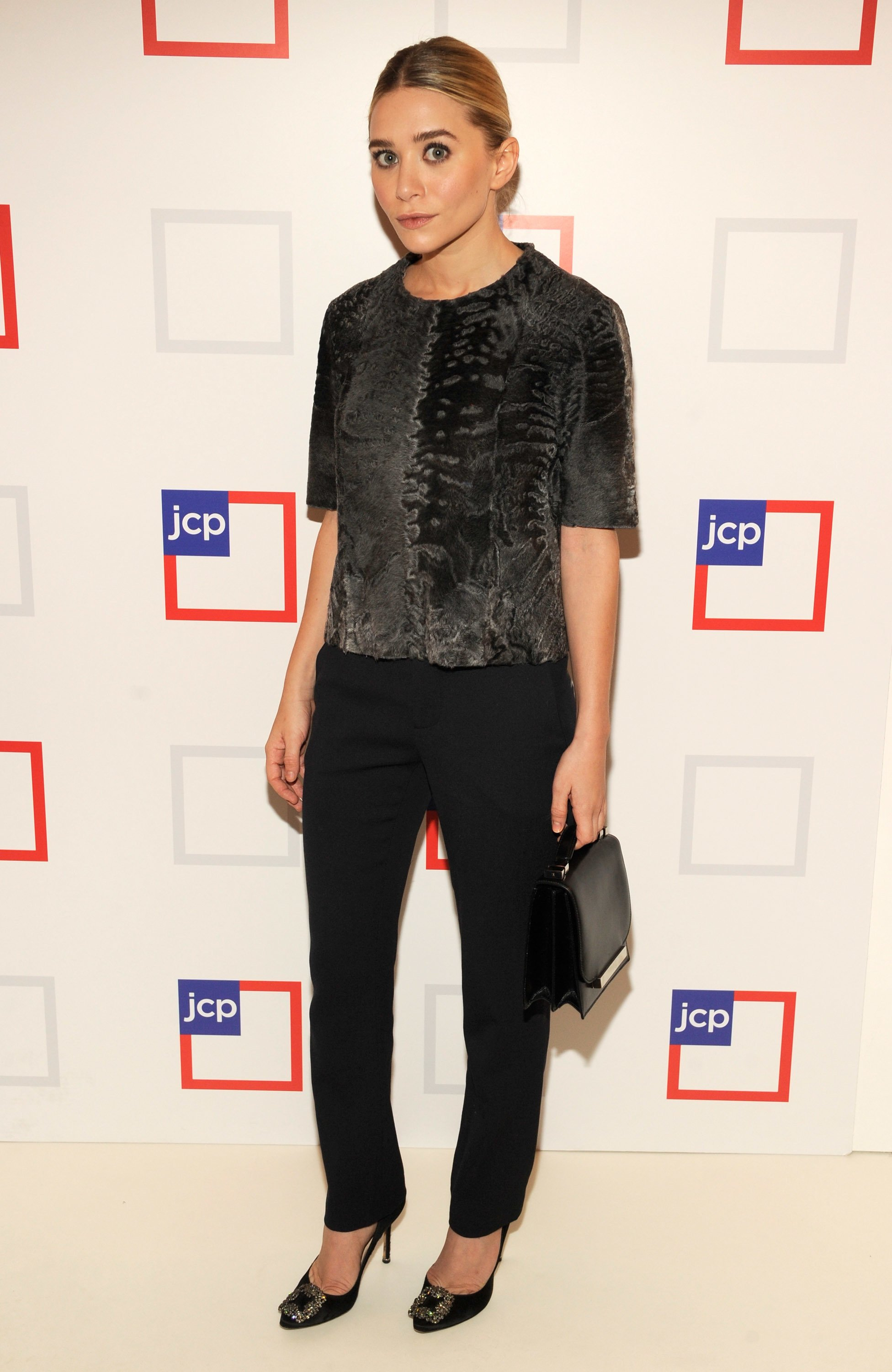 Ashley Olsen attends the jcpenney launch event at Pier 57 on January 25, 2012 in New York City. | Source: Getty Images