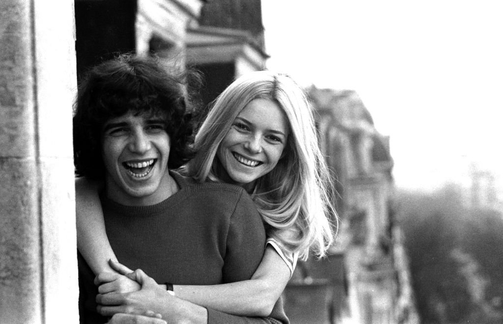 Portrait de France Gall et Julien Clerc, en 1970. | Photo : Getty Images