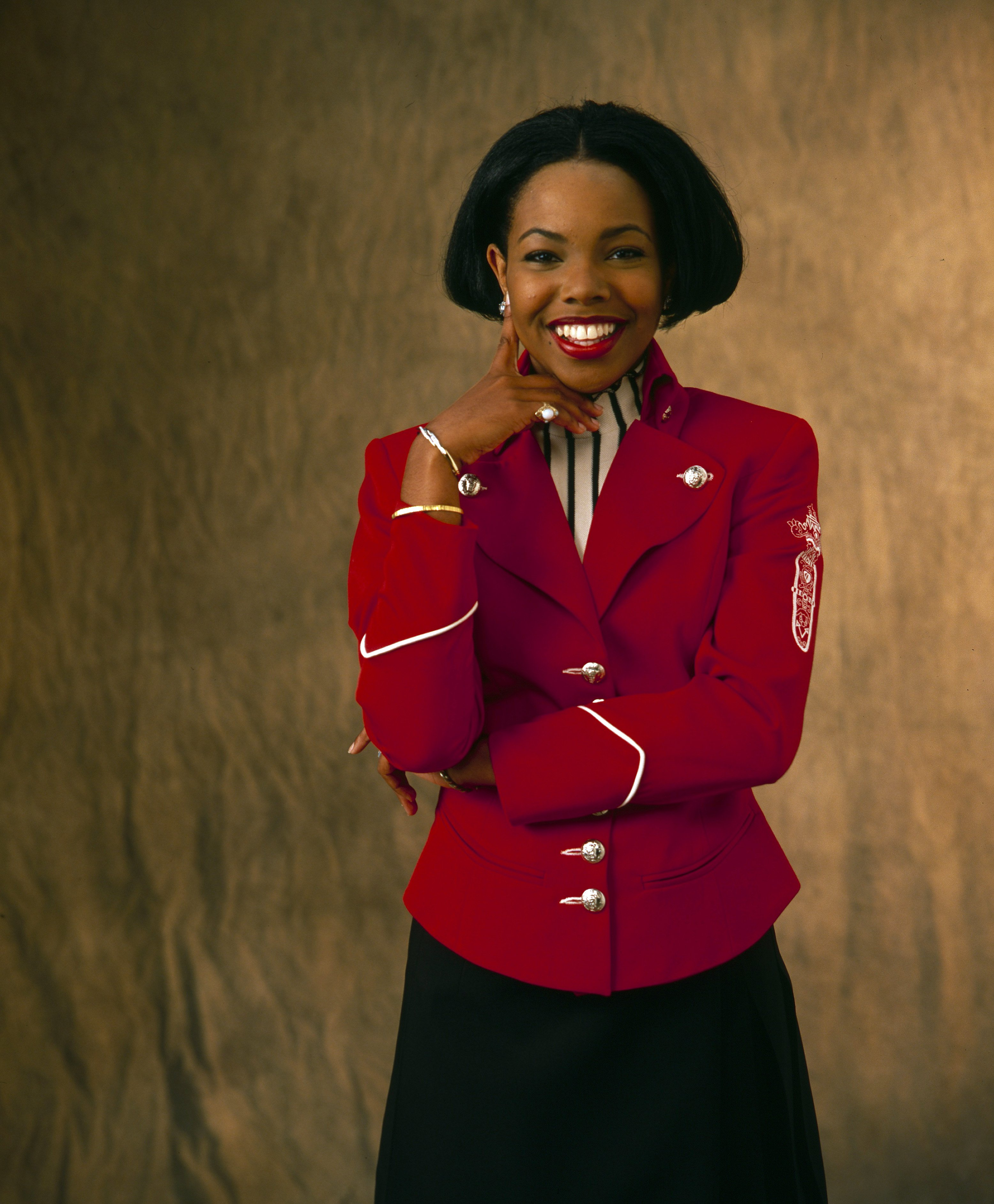 Kellie S. Williams on a  portrait shoot for Family Matters. | Photo: Getty Images