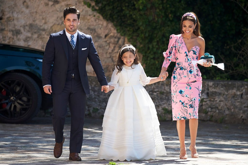 David y Paula en la Primera Comunión de Daniella Bustamante. l Fuente: Getty Images
