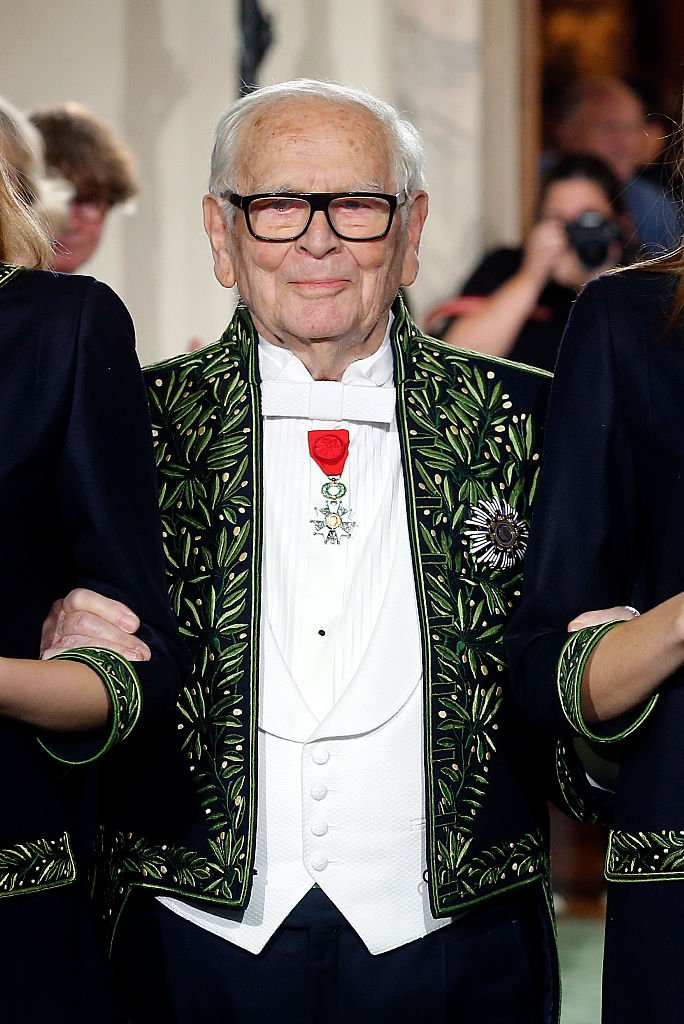 Portrait de Pierre Cardin. | Photo : Getty Images