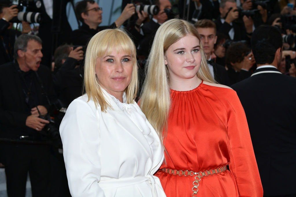 """Patricia Arquette and Harlow Olivia Calliope Jane attend the screening of """"Sibyl"""" during the 72nd annual Cannes Film Festival on May 24, 2019   Photo: Getty Images"""
