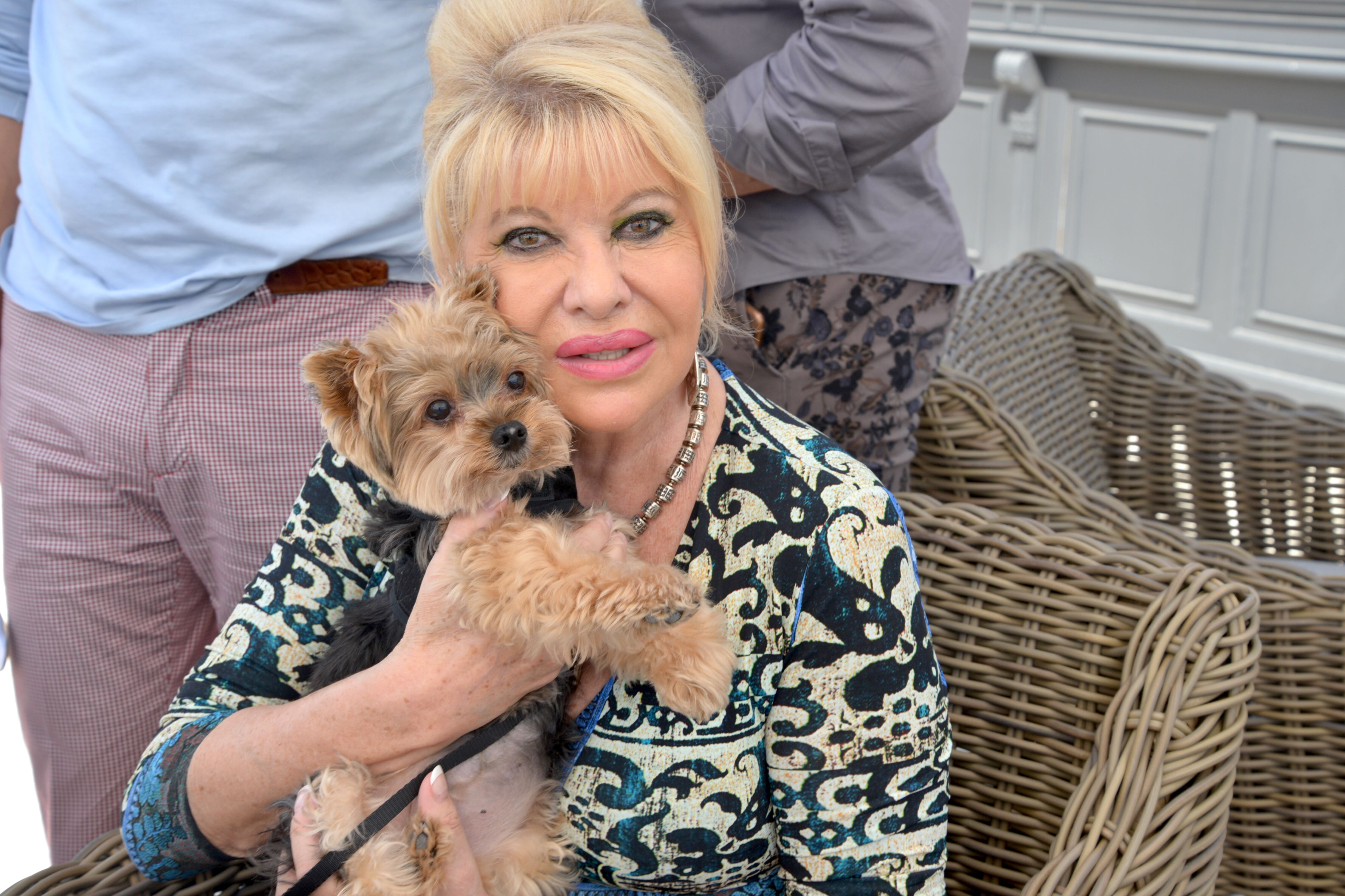 Ivana Trump sighted at The Deck at The Island Gardens on March 6, 2016 in Miami, Florida. | Source: Getty Images