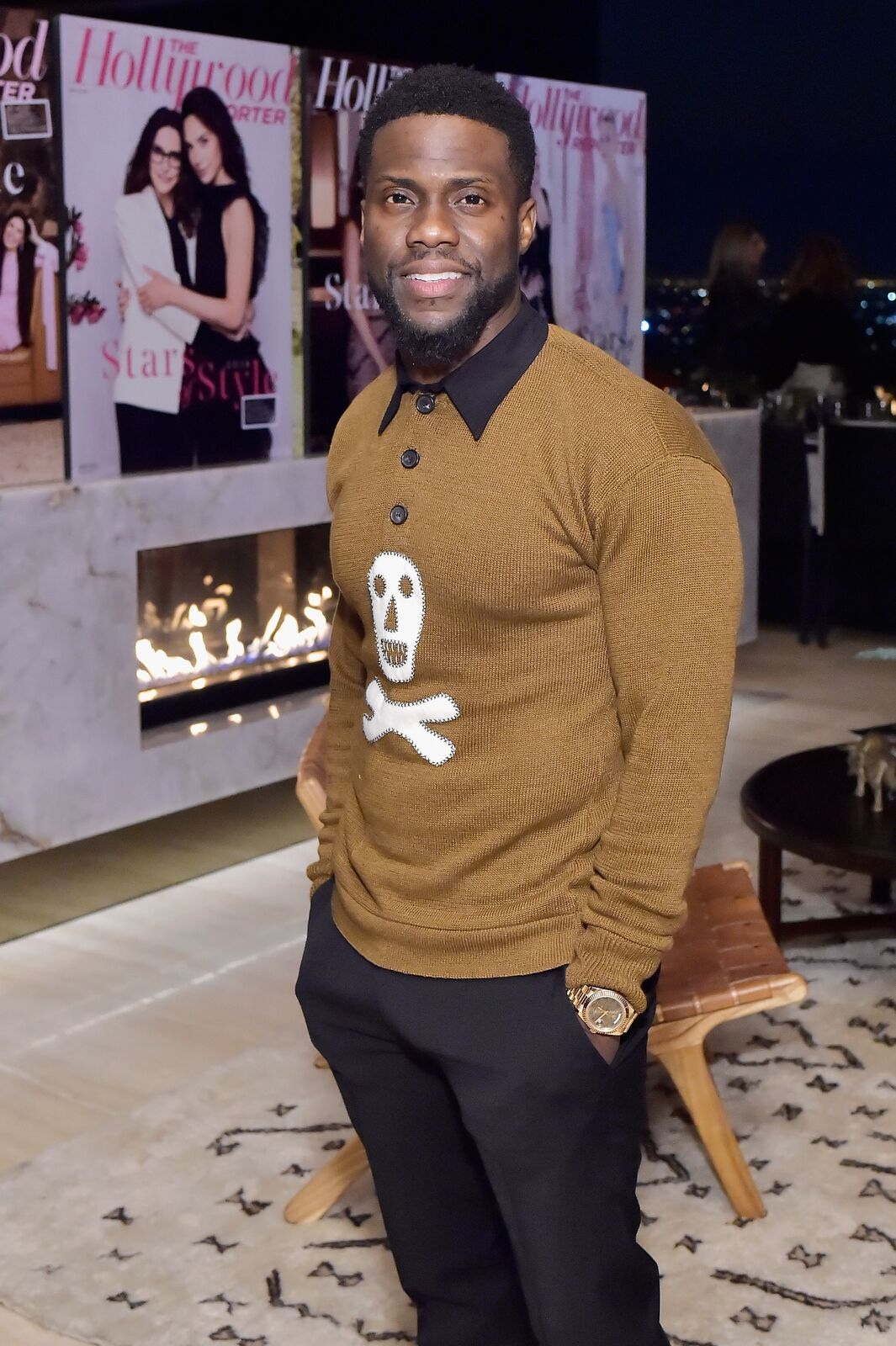 Kevin Hart attends The Hollywood Reporter and Jimmy Choo Power Stylists Dinner on March 20, 2018 | Photo: Getty Images