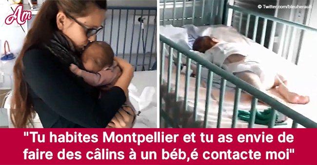 Une mère de Montpellier demande de serrer ses enfants dans ses bras, puisque cela les aide à guérir la bronchite sévère