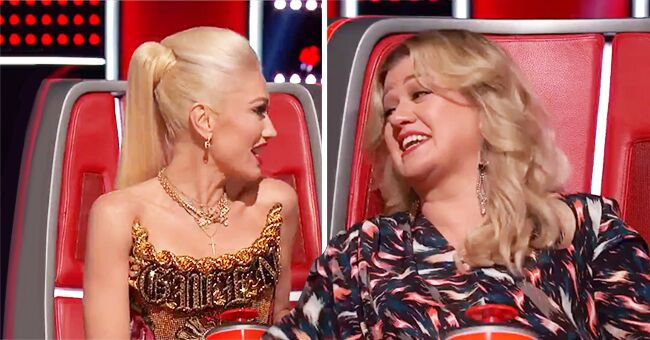 Gwen Stefani and Kelly Clarkson Wear the Same Outfits for Different Episodes & 'Voice' Fans Complain