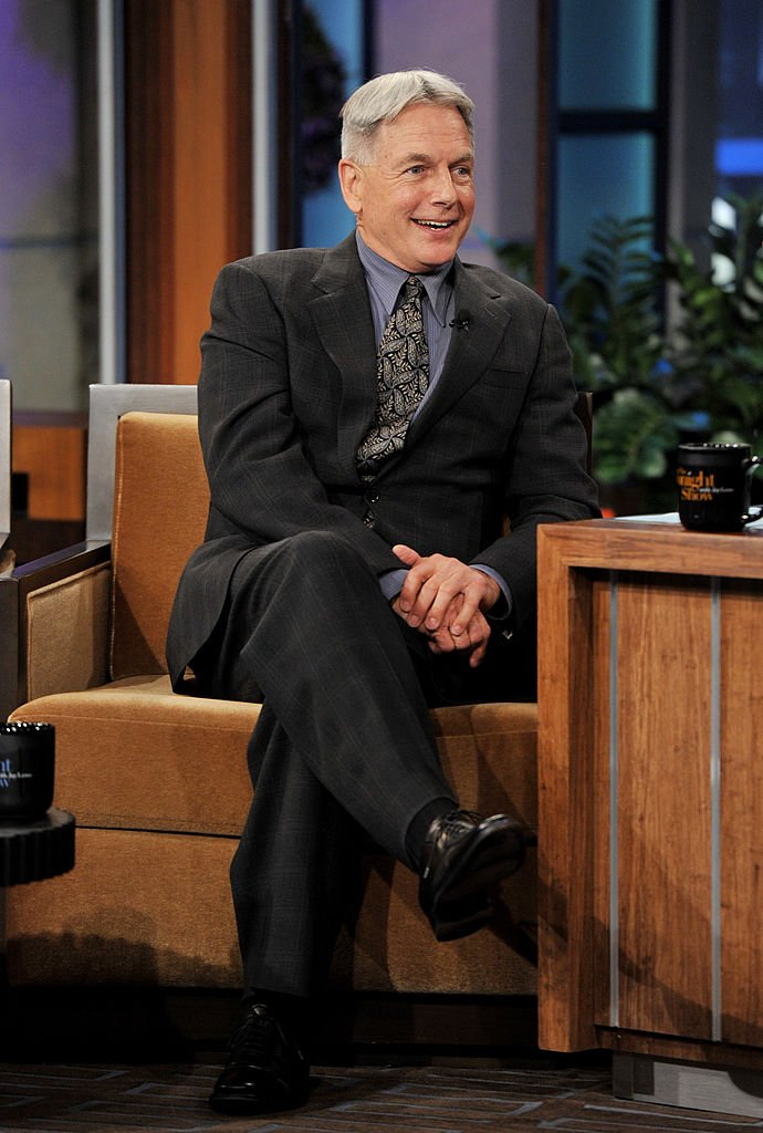 """Mark Harmon appears on """"The Tonight Show With Jay Leno"""" at NBC Studios on January 31, 2012 in California 