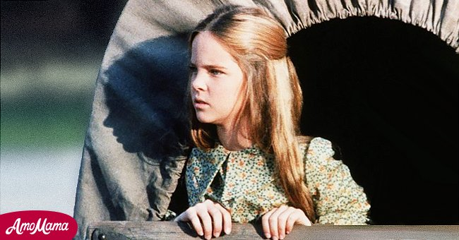"""Young Melissa Sue Anderson on """"Little House on the Prairie"""" 