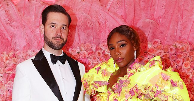 Serena Williams' Husband Alexis Ohanian Looks Charming with Long Hair in a Black & White Photo