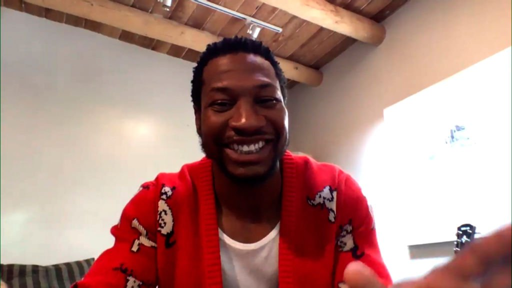 Actor Jonathan Majors at an interview on September 24, 2020 | Photo: Getty Images