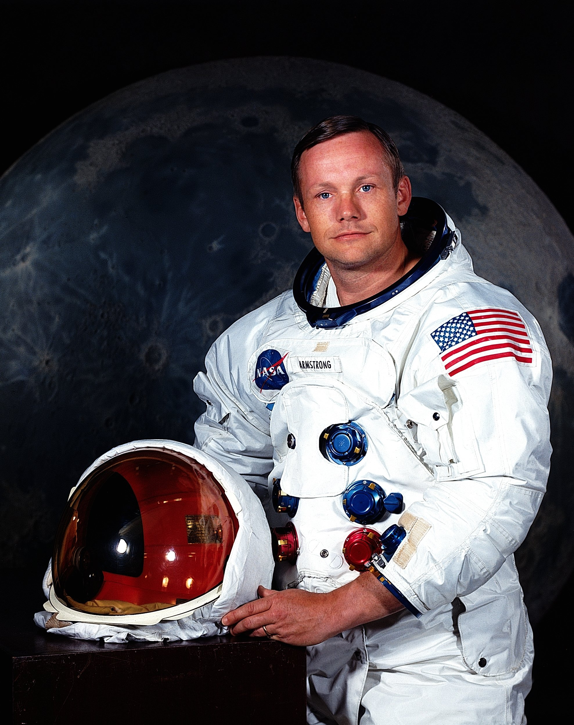 Neil A. Armstrong poses for a portrait July 1969. | Photo: Getty Images