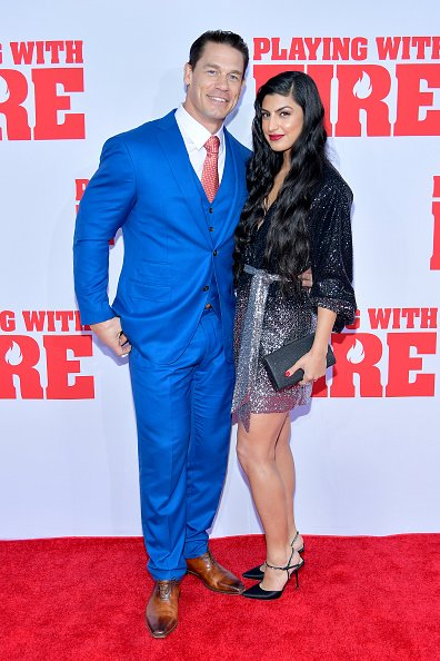 John Cena and Shay Shariatzadeh at AMC Lincoln Square Theater on October 26, 2019 in New York, New York.   Photo: Getty Images