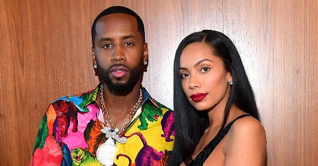 Check Out Safaree and Erica Mena's New Family Pic with 5-Month-Old Daughter While Being Breastfed