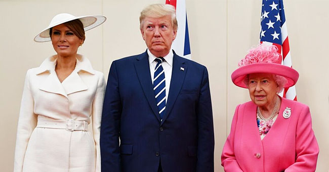 Donald Trump Joins Queen Elizabeth and 300 War Veterans at 75th Anniversary of D-Day
