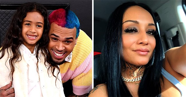 Chris Brown Reunites with Ex Nia Guzman to Cheer on Daughter Royalty at Her Soccer Game