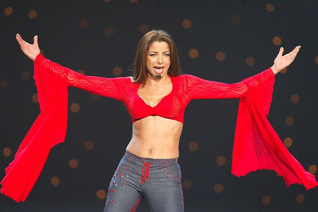 Pilar Montenegro en los Premios de Música Latina Ritmo 2002 en el Teatro Kodak en Hollywood, California, el 25 de octubre de 2002. | Imagen: Getty Images