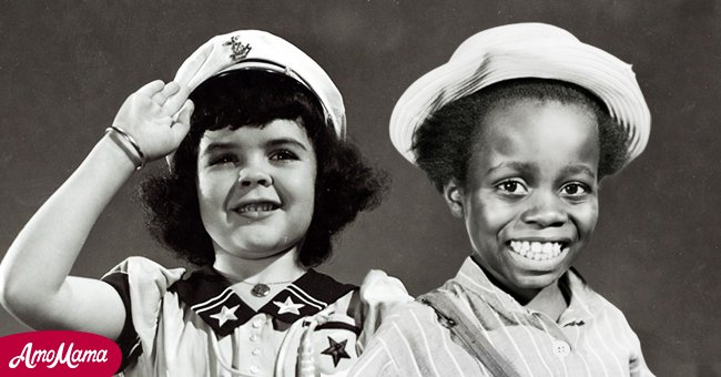 A picture of Darla Hood and Billie 'Buckwheat' Thomas | Photo: Getty Images