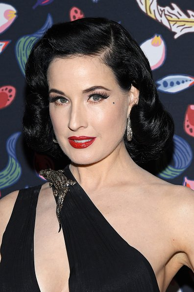 Dita Von Teese at Musee Des Arts Decoratifs on February 26, 2020 in Paris, France. | Photo: Getty Images