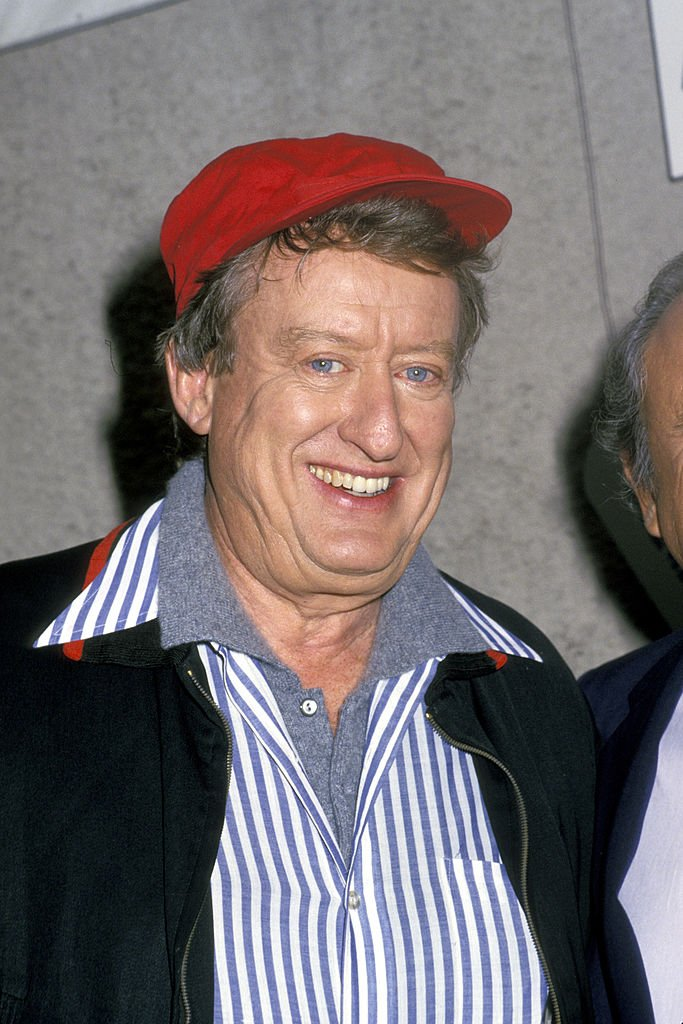 Tom Poston at HBO's Comic Relief event in Universal City, California on November 14, 1987 | Photo: Getty Images