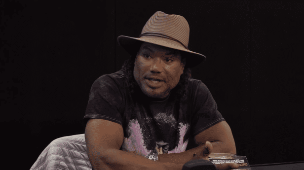 Christopher Judge during an interview with GameByte in August 2018   Photo: YouTube/GameByte