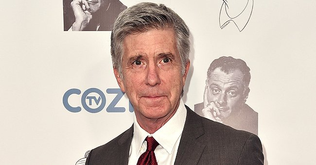 Tom Bergeron Reveals Why He Put up Christmas Tree Early & Showed His Fred Willard Santa Standee