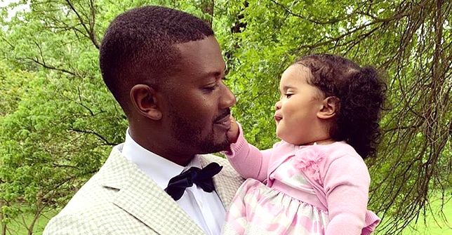 Ray J of LHHH Shares Cute Photo of Daughter Melody with Her Curls Loose While Sitting on a Sofa
