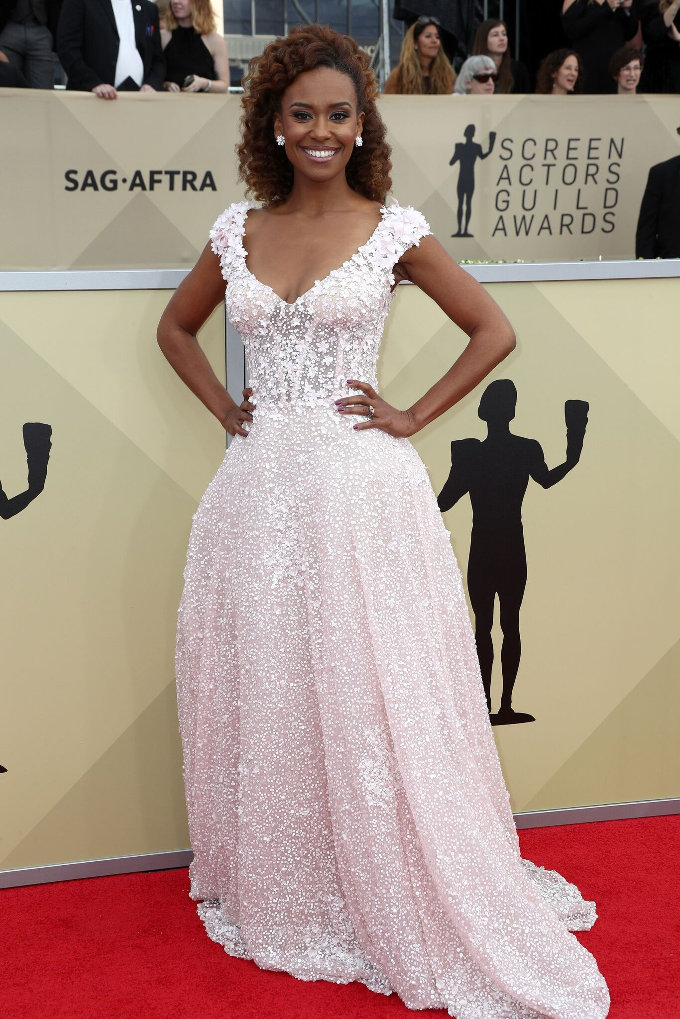 Ryan Michelle Bathe attends the 24th Annual Screen Actors Guild Awards at The Shrine Auditorium | Getty Images