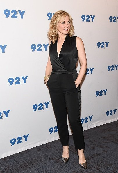 Amy Carlson at the Blue Bloods 150th episode celebration in New York City | Photo: Getty Images