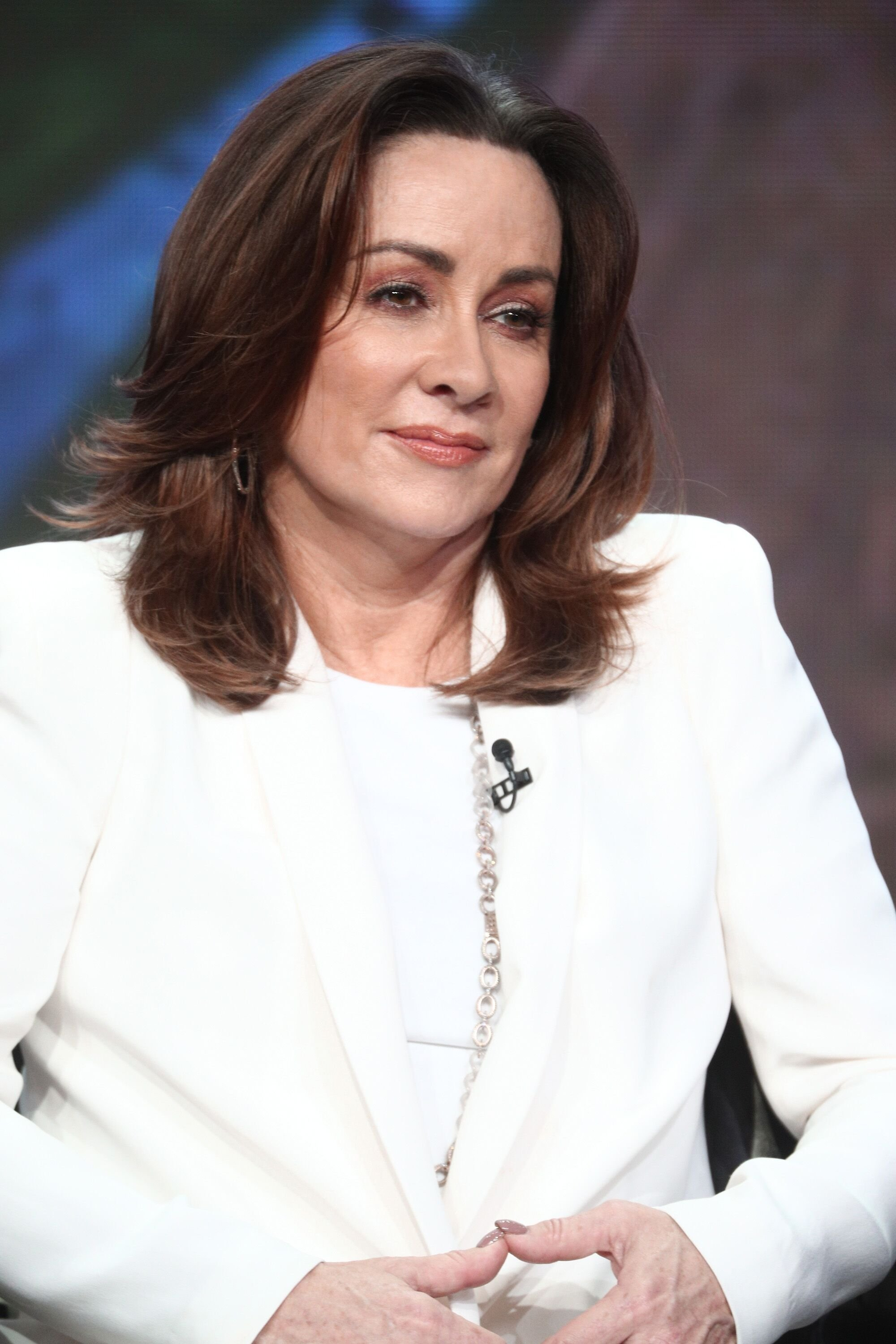 """Patricia Heaton promoting """"The Middle"""" during the 2017 Summer Television Critics Association Press Tour 
