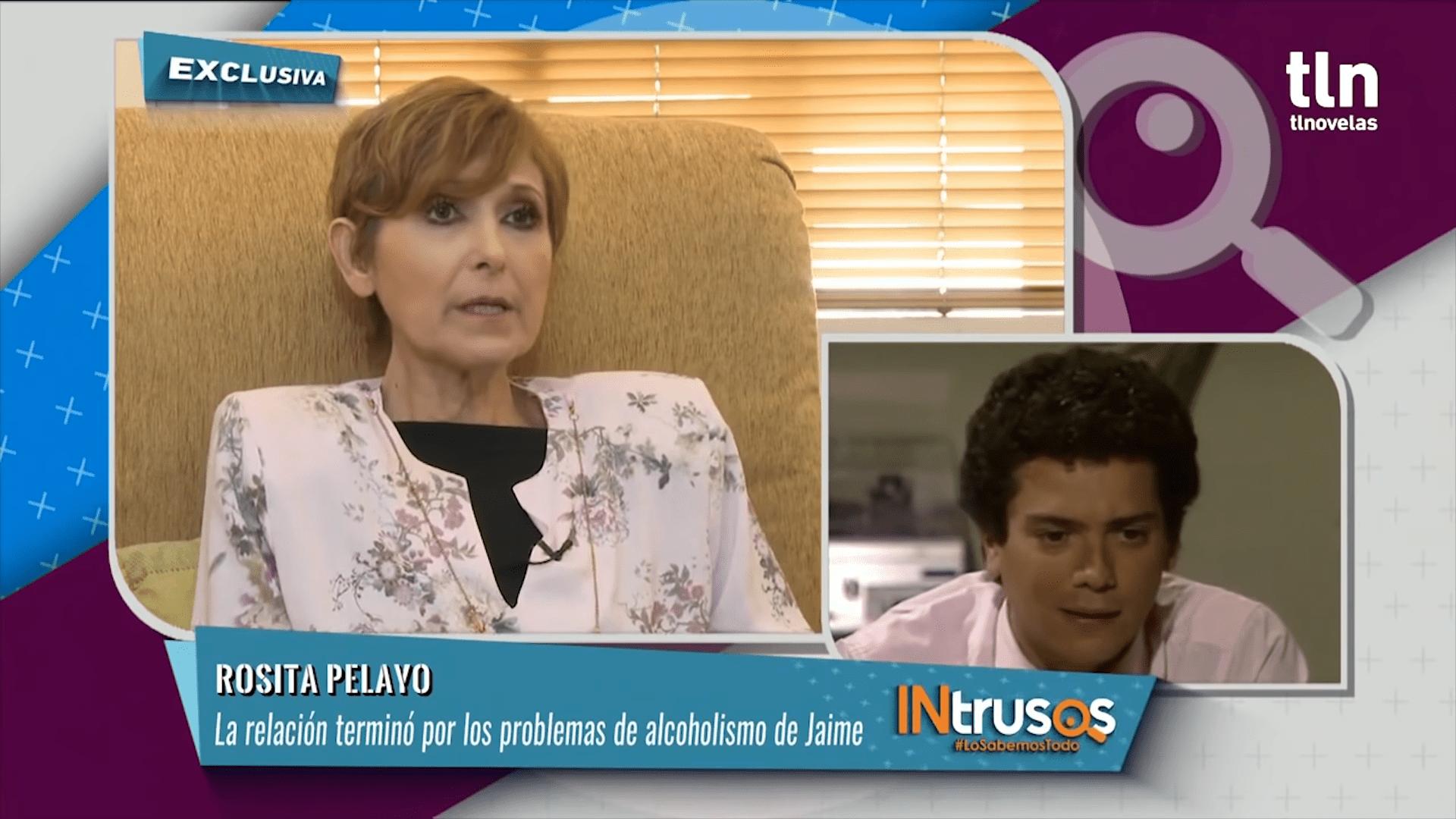 Rosita Pelayo hablando de su ex, Jaime Garza │Imagen tomada de: INtrusos