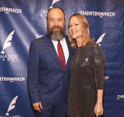 Actors Danny Burstein and Rebecca Luker attend The 61st Annual Drama Desk Awards Arrivals at Anita's Way on June 5, 2016 in New York City.   Source: Getty Images
