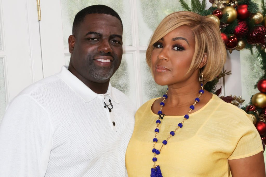 """Warryn and Erica Campbell visiting Hallmark's """"Home & Family"""" in July 2018. 
