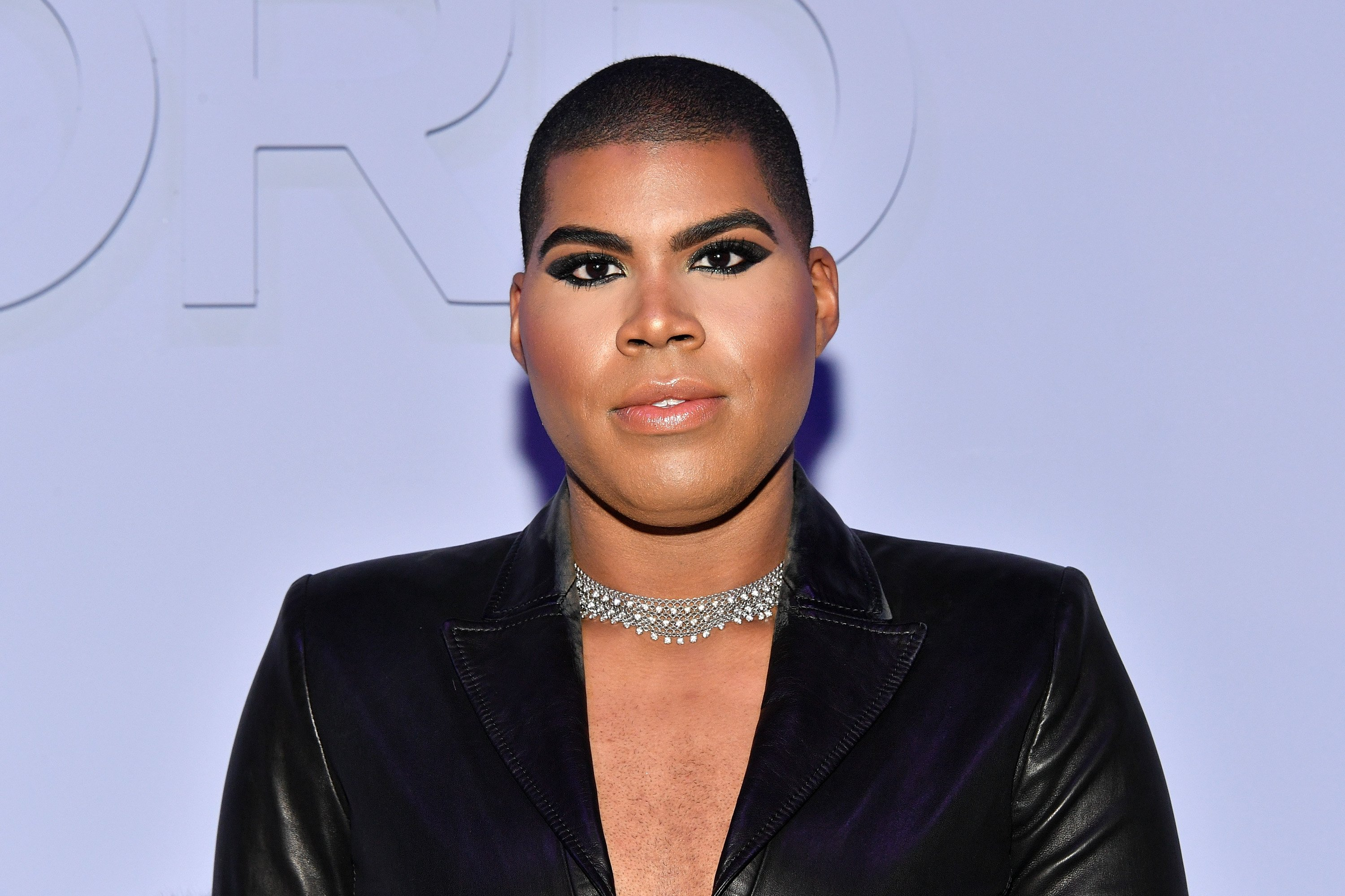 EJ Johnson at the Tom Ford Women's Fall/Winter 2018 fashion show during New York Fashion Week on February 8, 2018 | Photo: Getty Images