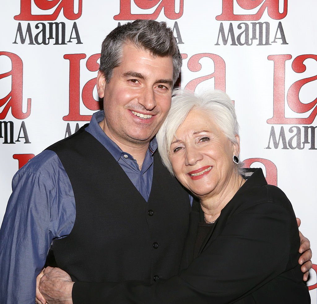 Stefan Zorich and Olympia Dukakis at the Ellen Stewart Theatre on November 13, 2014   Photo: Getty Images