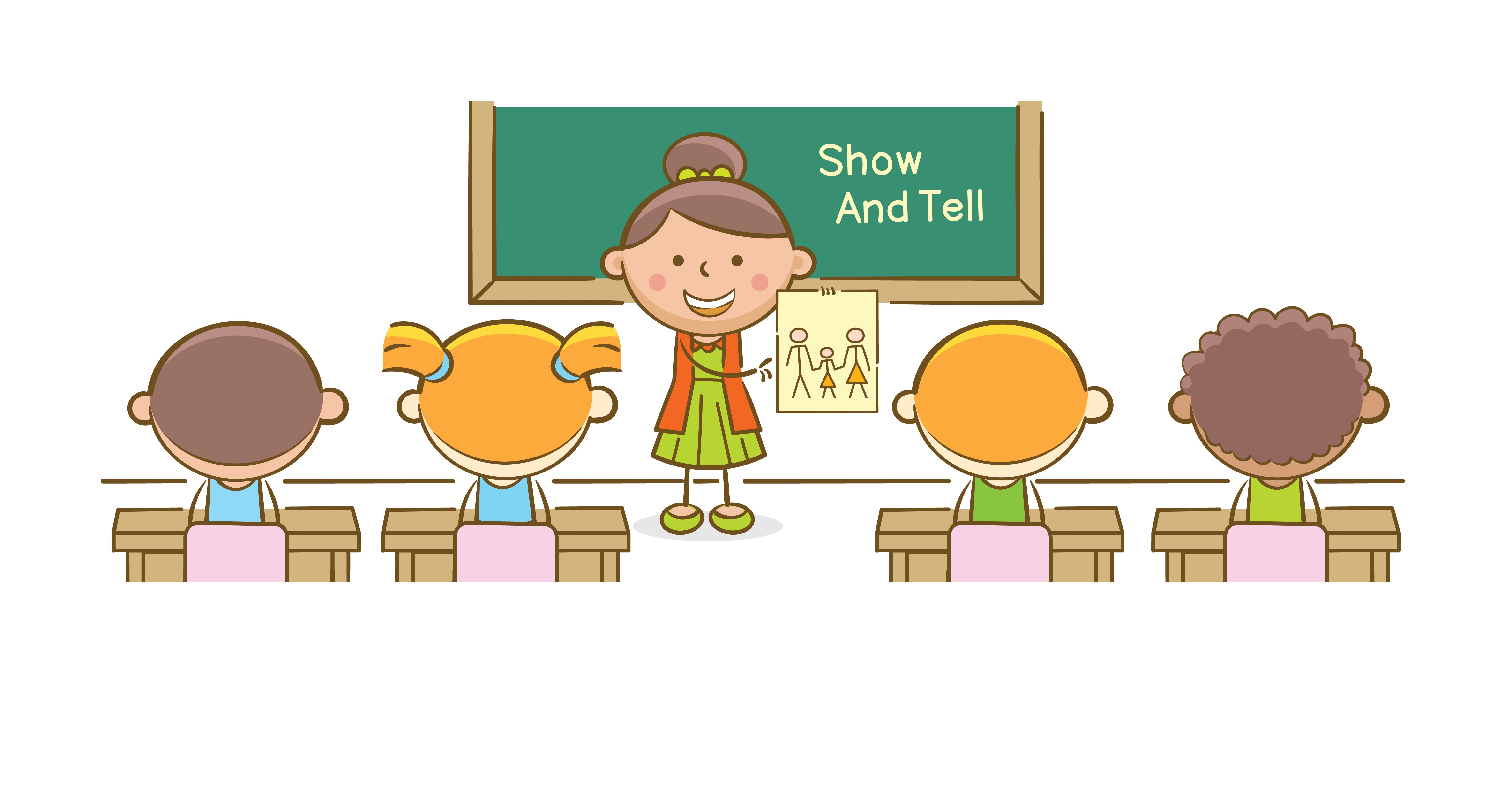 Show and tell classroom | Photo: Shutterstock