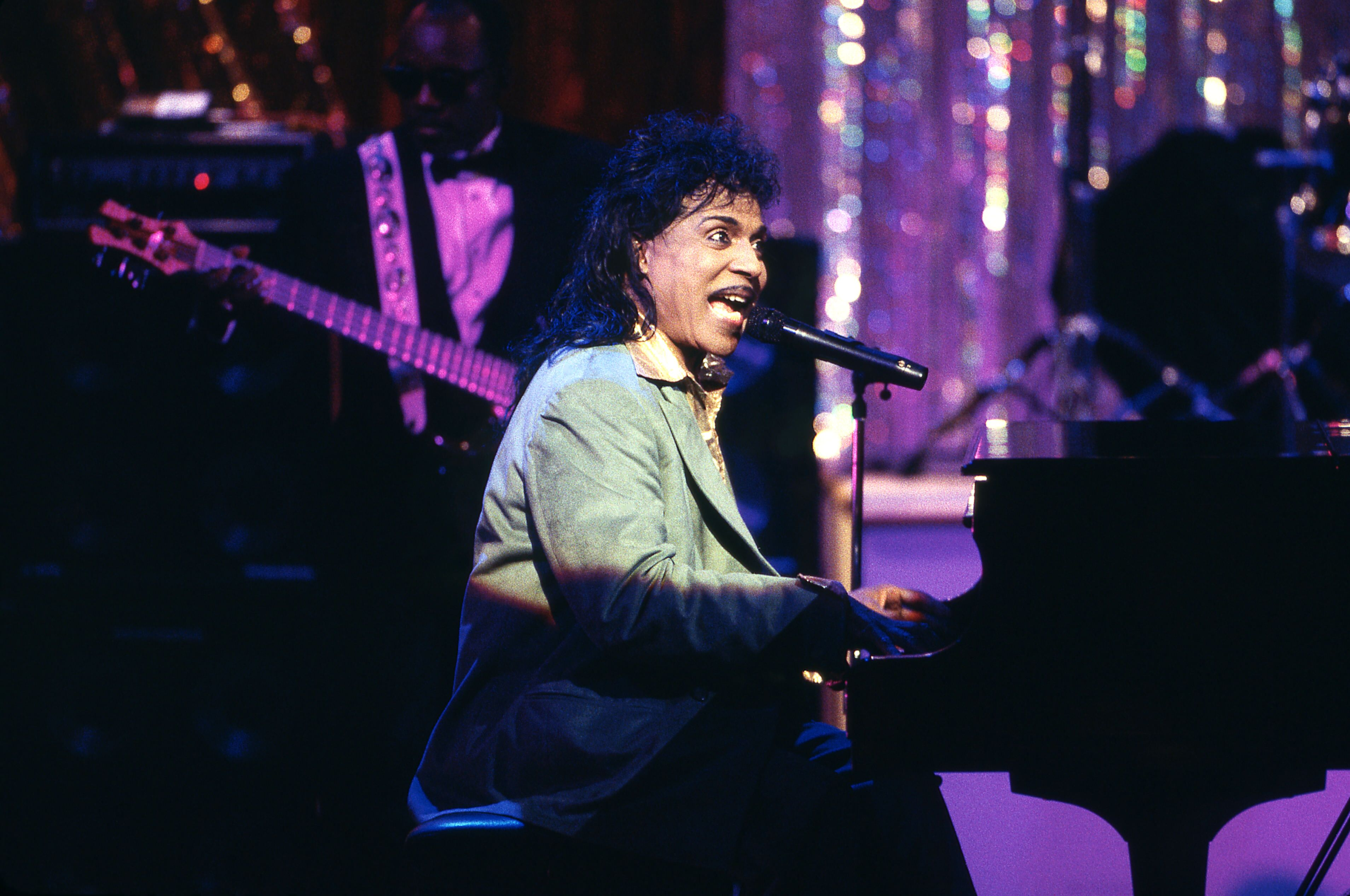 Singer-pianist Little Richard performing live at the Gala for the President at Ford's Theatre in Washington D.C. | Photo: Frank Micelotta /Walt Disney Television via Getty Images