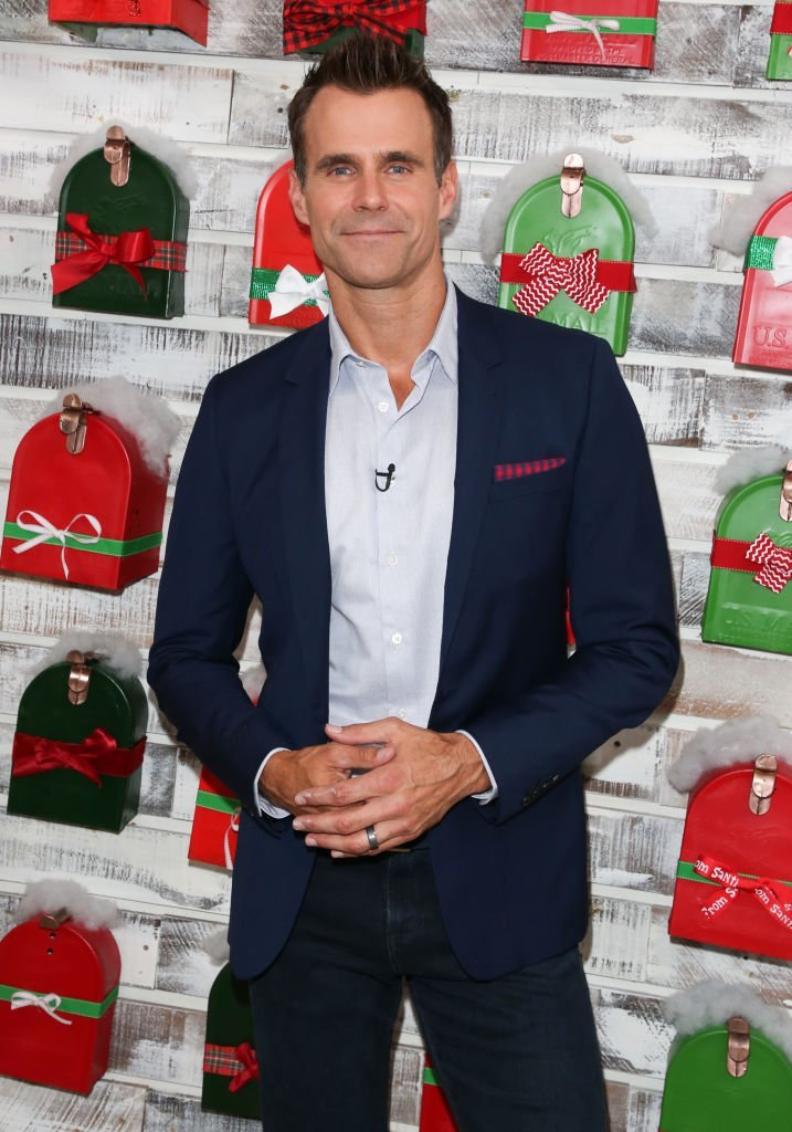 """Cameron Mathison visits Hallmark's """"Home & Family"""" celebrating 'Christmas In July' at Universal Studios Hollywood on July 24, 2018 
