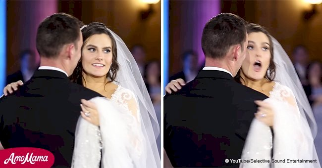 Groom surprises bride by inviting her favorite singer to perform on their wedding day