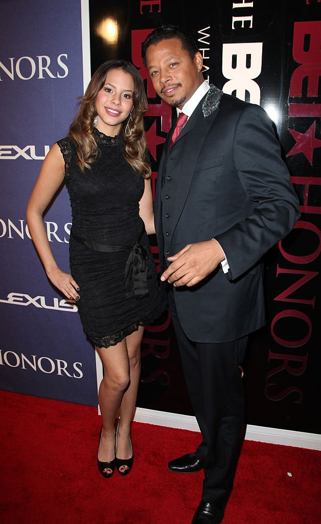 Terrence Howard and his daughter Aubrey Howard arrived on the red carpet at the BET Honors 2012, on January 14, 2012. | Photo: Getty Images