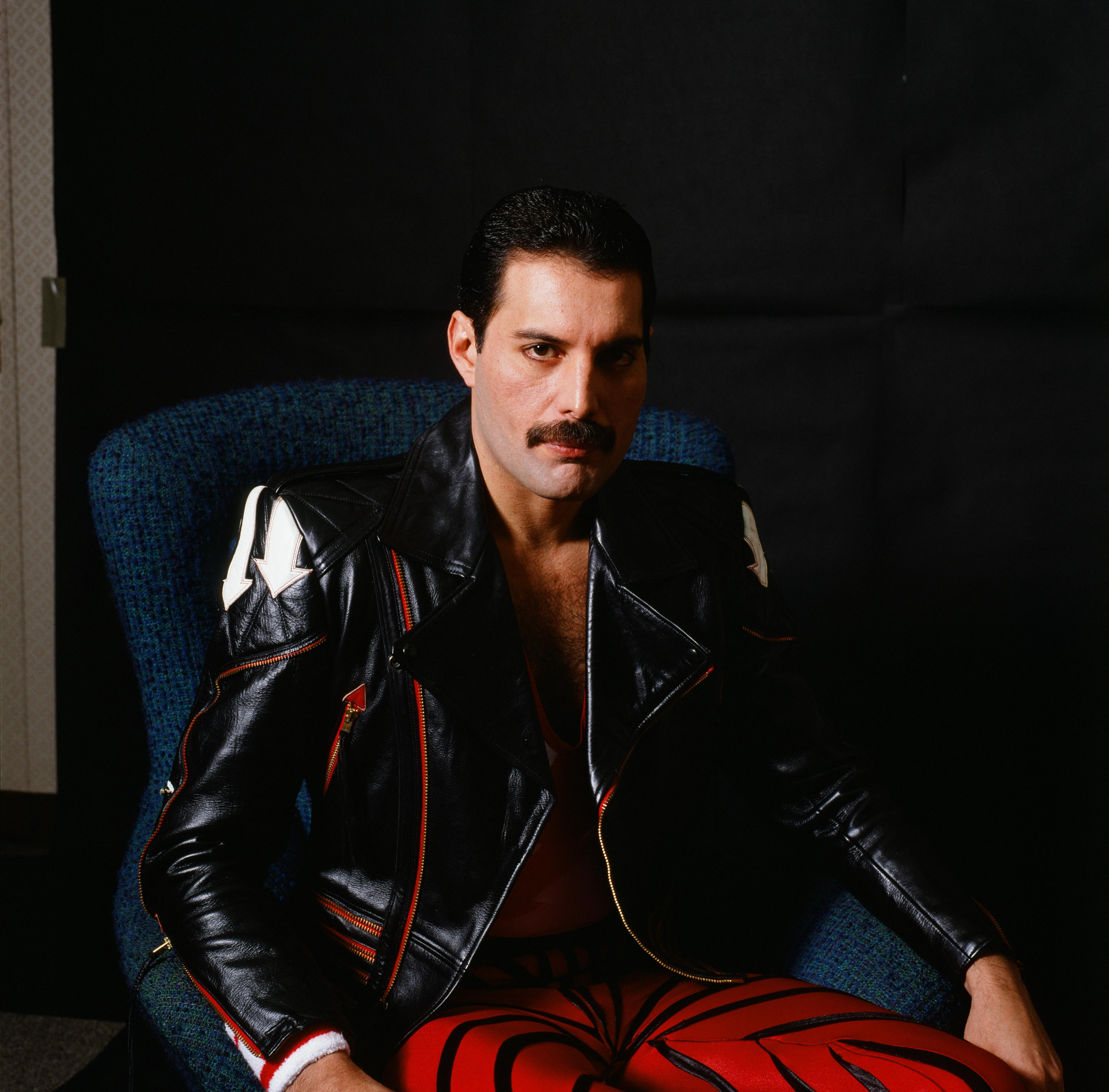 Freddie Mercury's Photoshoot For MUSIC LIFE Magazine. | Source: Getty Images