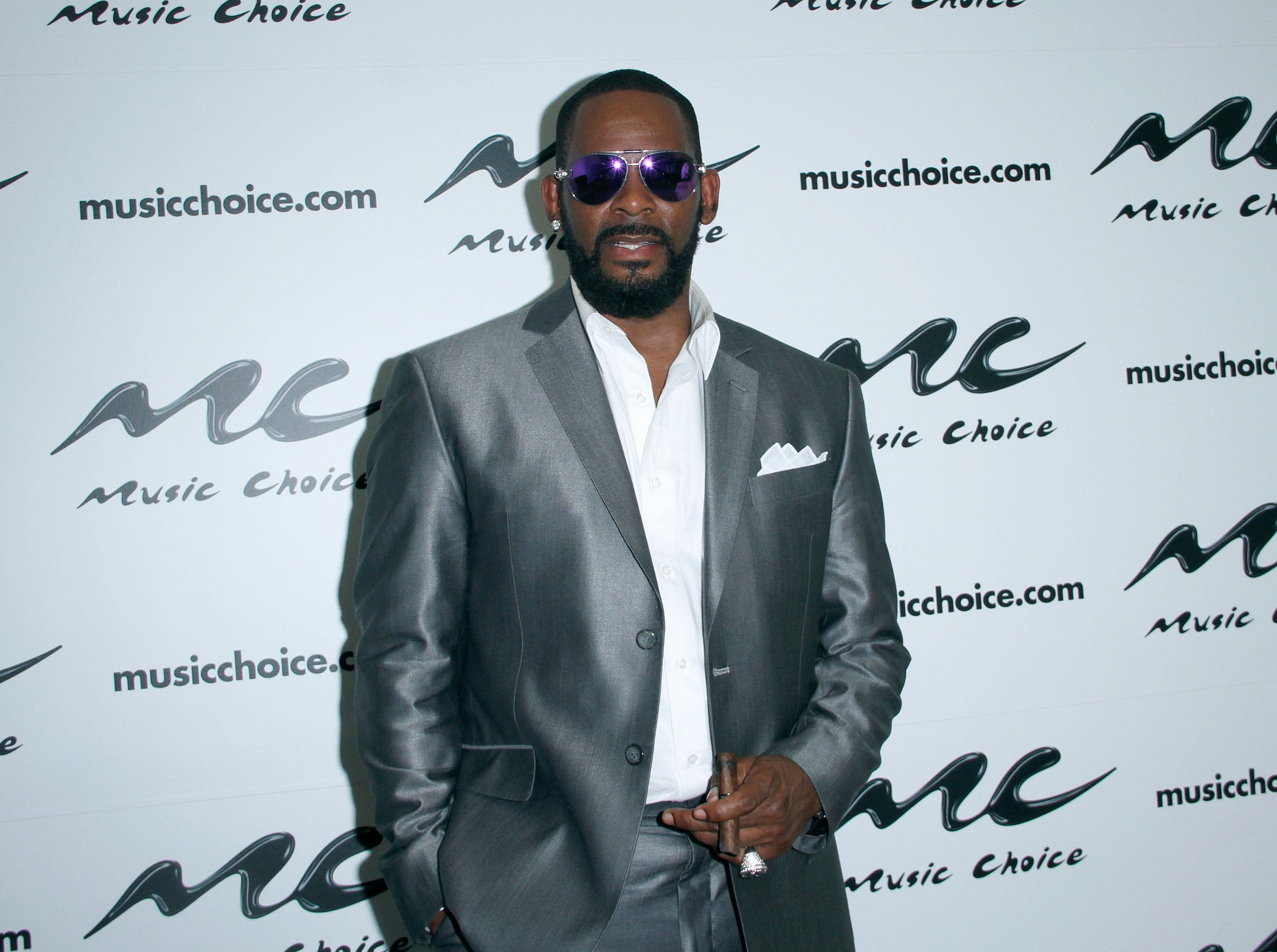R. Kelly at Music Choice in July 2015 in New York City | Source: Getty Images