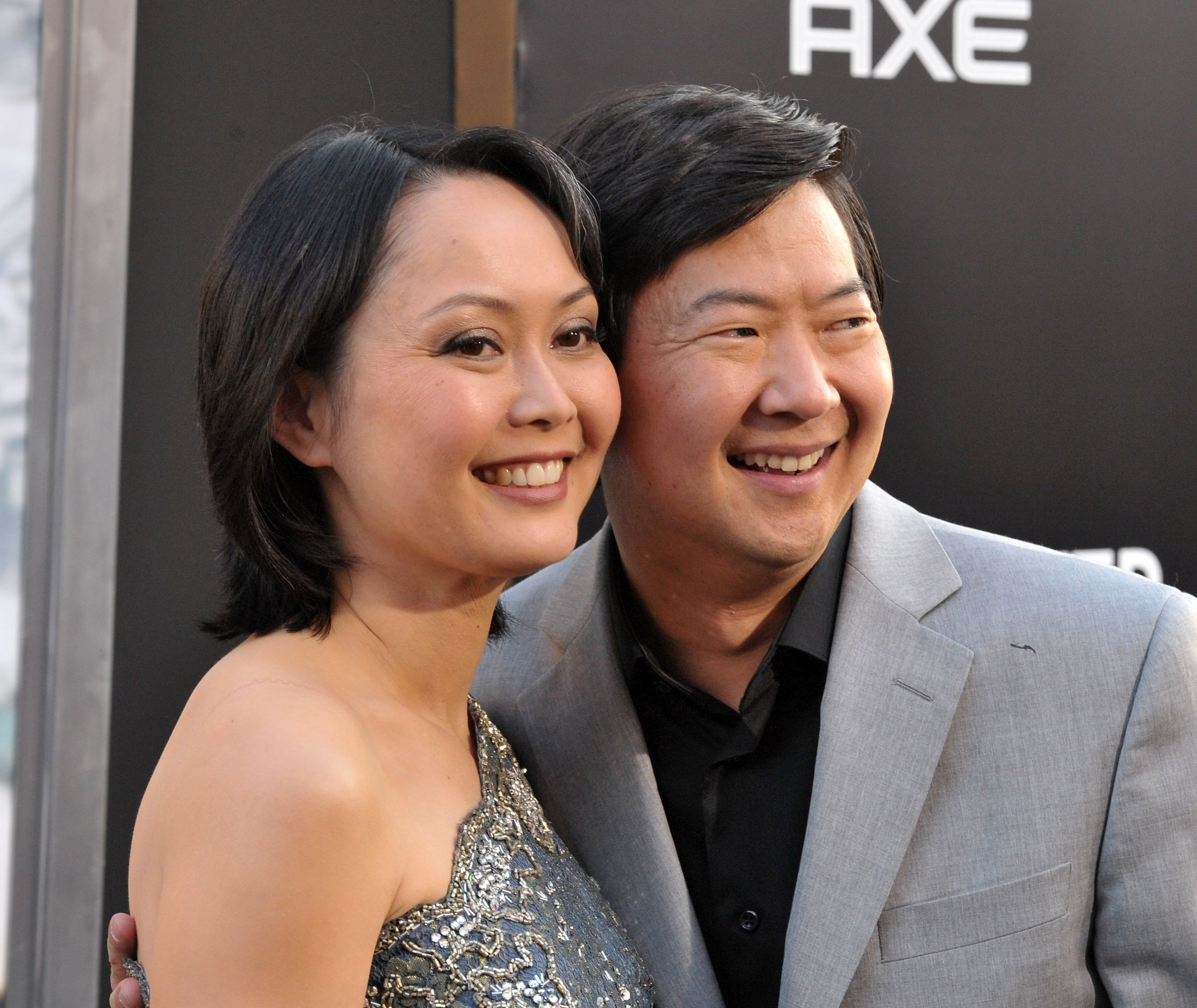 """Tran and Ken Jeong at """"The Hangover Part II"""" Los Angeles premiere on May 19, 2011 in Hollywood, California. 