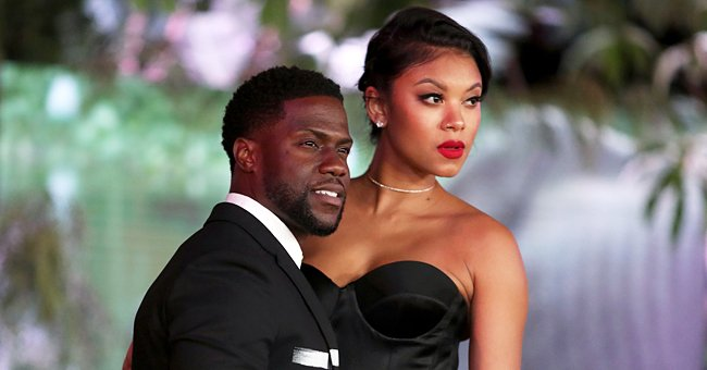 Kevin Hart's Wife Eniko Shows off Their Baby Girl Kaori Mai Looking Lovely in Floral Outfits