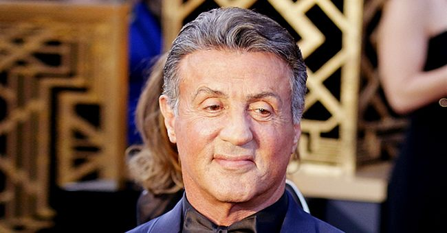 Sylvester Stallone and His Daughter Pose in Matching Outfits in a New Snap