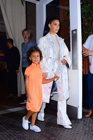Kim Kardashian and daughter North West seen out and about in Manhattan on September 29, 2018 in New York City. |Photo:Getty Images